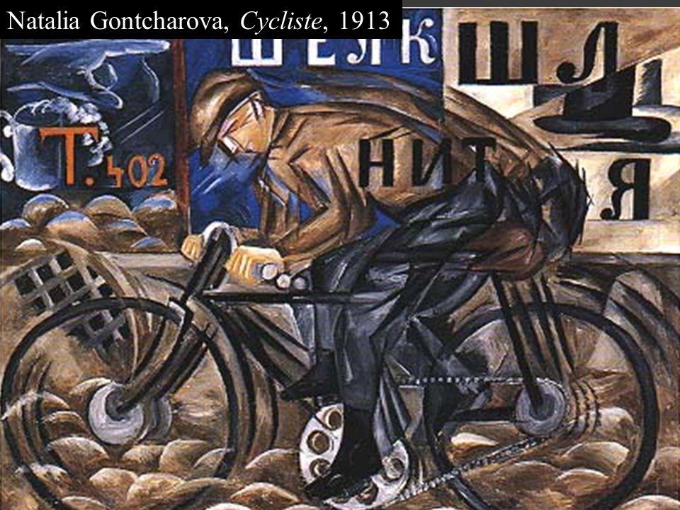 Nous sommes en 1910. Je suis Mikhaïl Larionov. Comment peut-on être à la fois Russe et moderne? Je suis Natalia Gontcharova. Je minspire des avant-gar