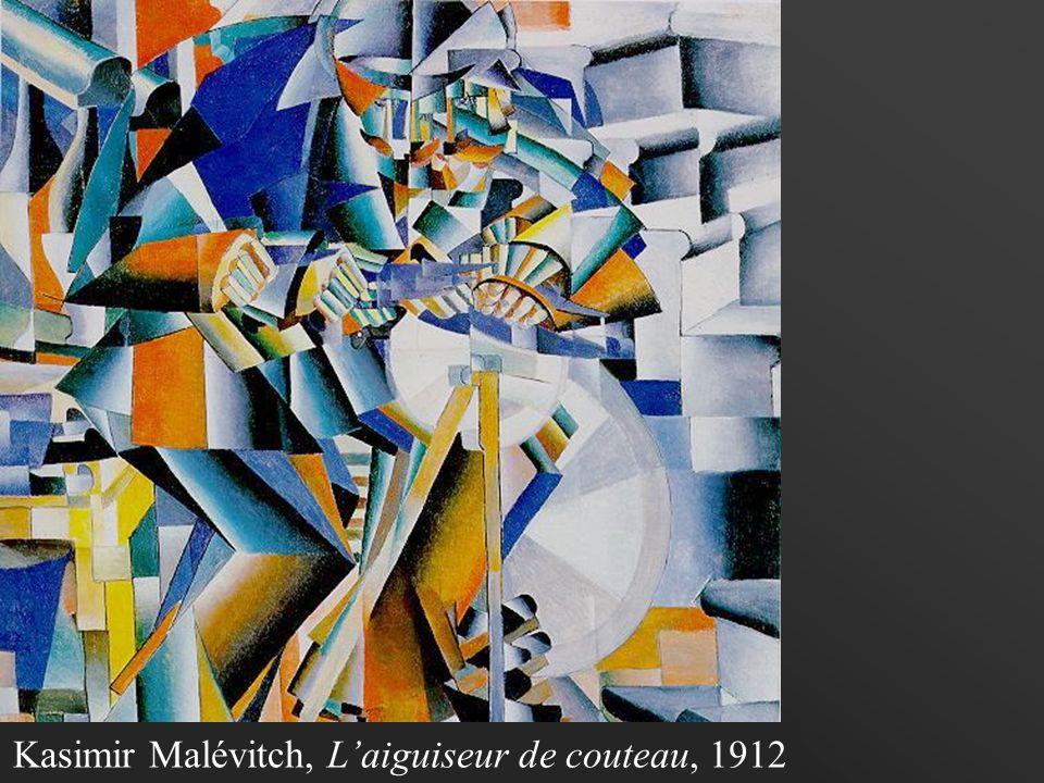 Nous sommes en 1915. Je suis Kasimir Malévitch. La tension politique augmente et les artistes veulent préparer le peuple russe à une nouvelle forme da