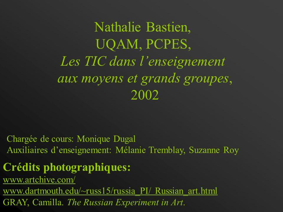 Affirmation dun art national russe Intégration des tendances européennes radicales Passage de la figuration à labstraction