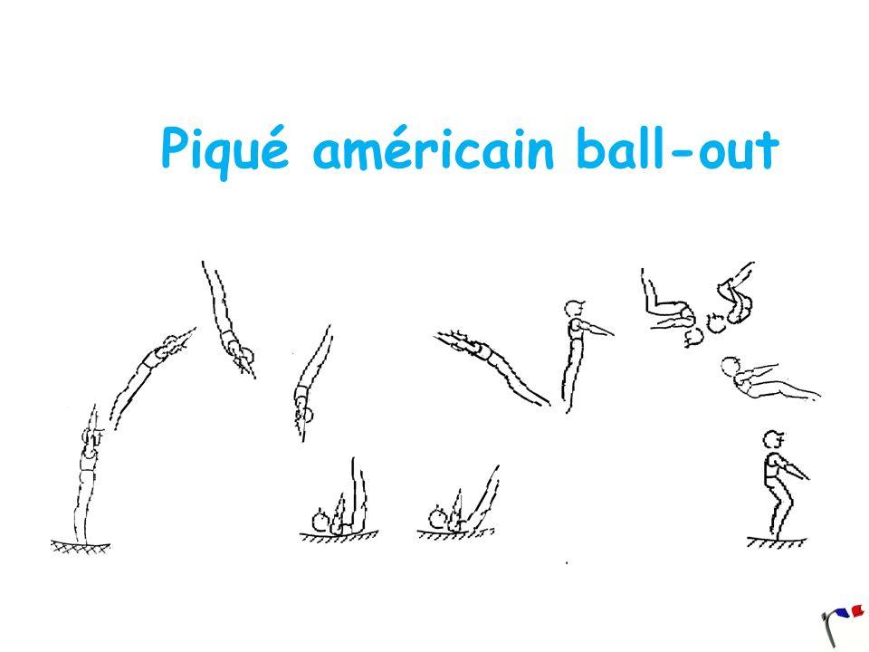Piqué américain ball-out