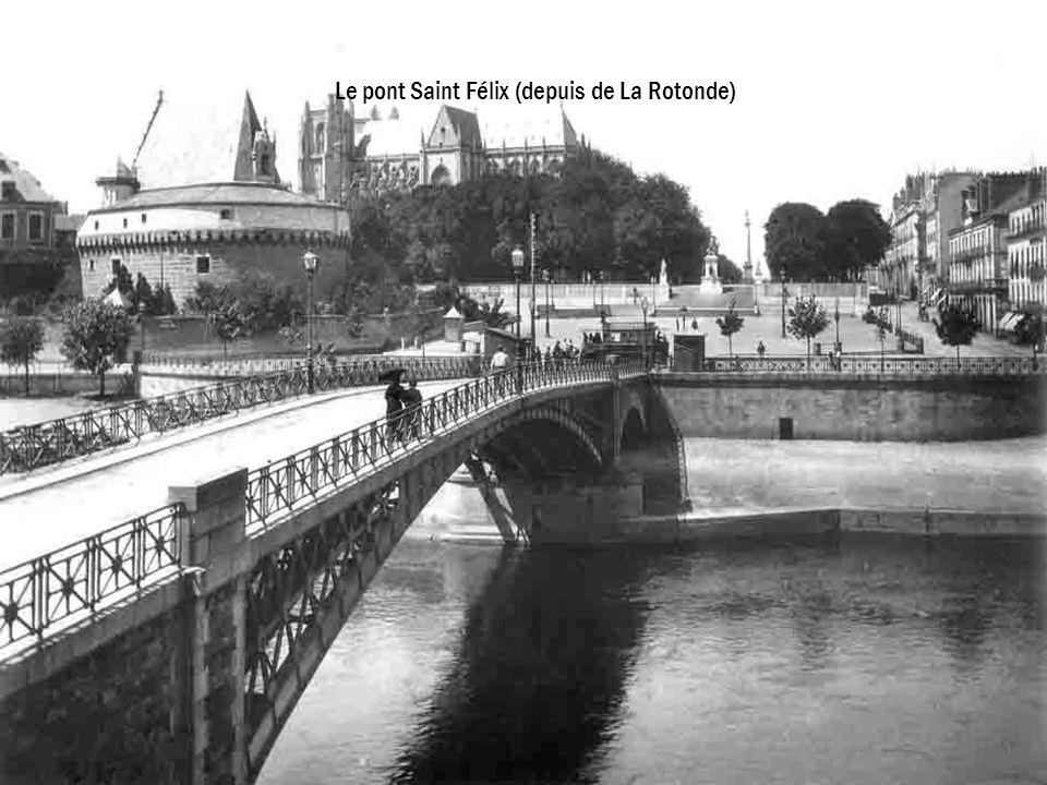 Le pont Saint Félix (depuis de La Rotonde)