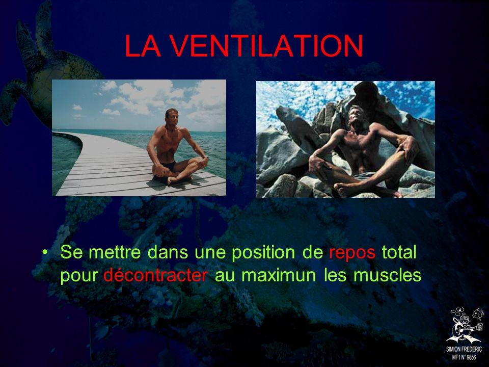 Preparation avant les séances Etre en bonne condition physique Avoir une bonne technique de palmage Ne pas manger avant une séance
