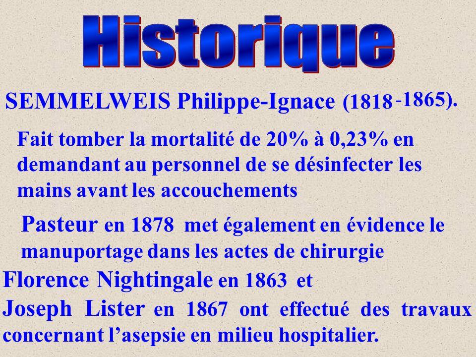 SEMMELWEIS Philippe-Ignace (1818 -1865).