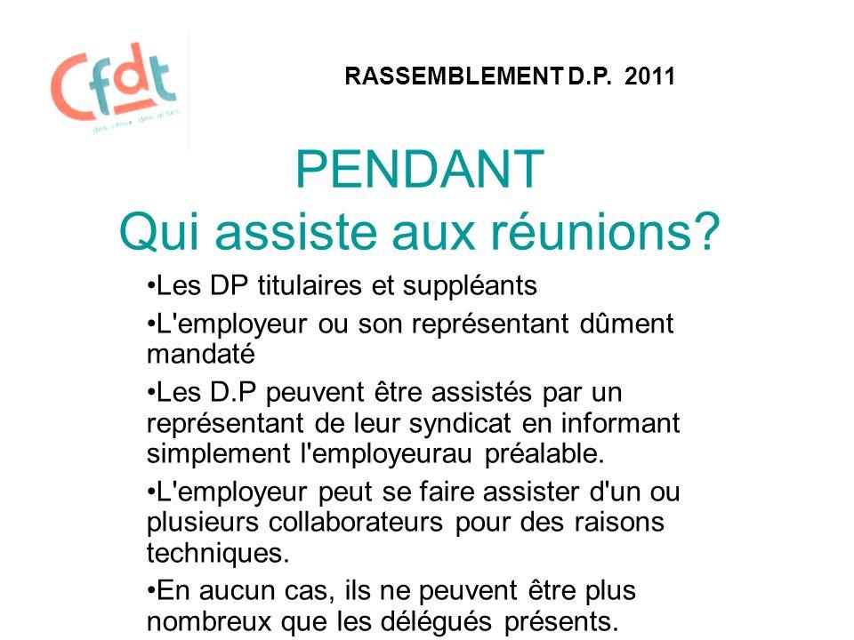 PENDANT RASSEMBLEMENT D.P.