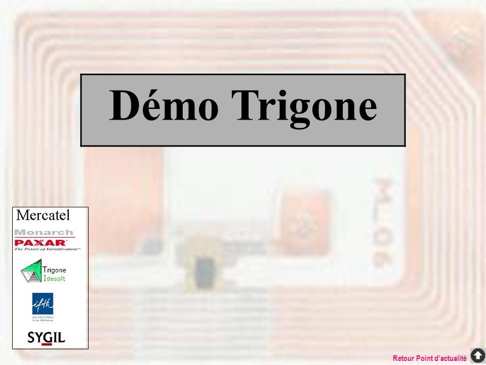 Démo Trigone Retour Point dactualité