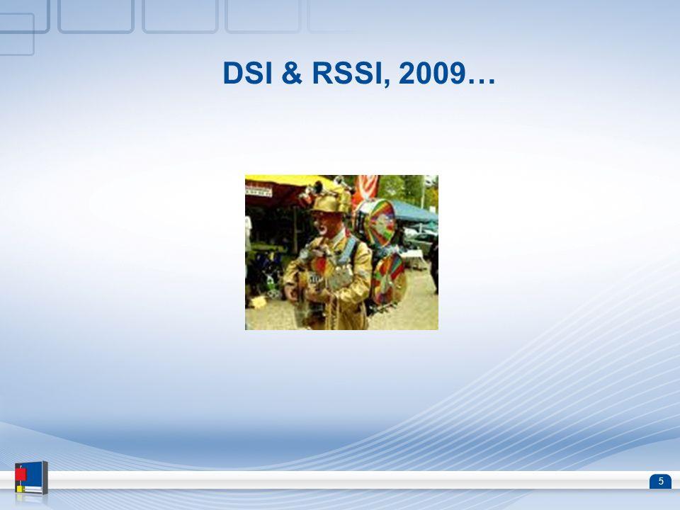 6 DSI & RSSI, 2010…