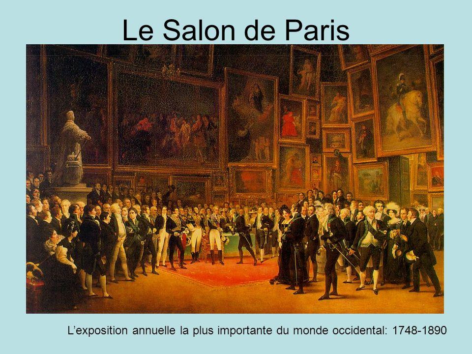 Le Salon de Paris Lexposition annuelle la plus importante du monde occidental: 1748-1890