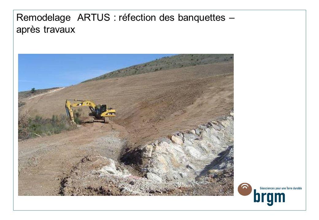 Remodelage ARTUS : réfection des banquettes – après travaux