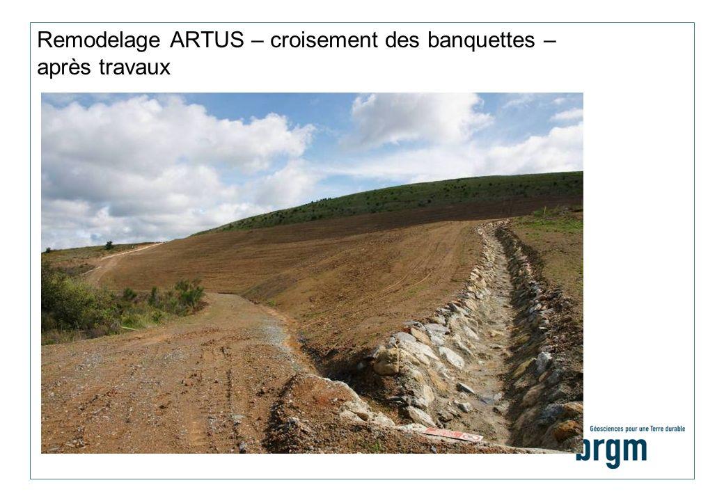 Remodelage ARTUS – croisement des banquettes – après travaux