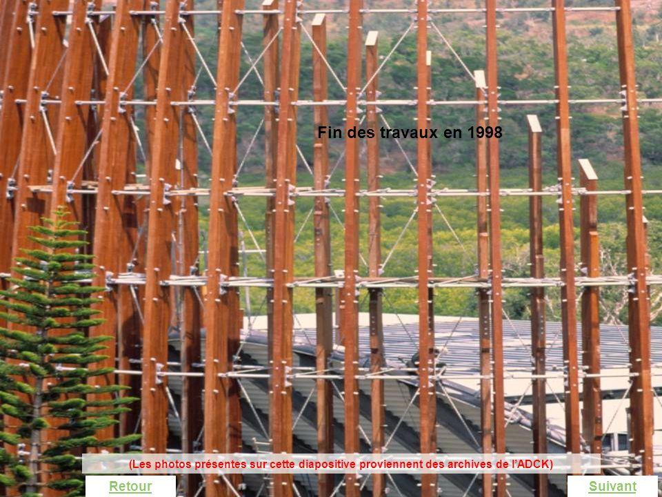 La fabrication dune case La démarche technologique SuivantRetour Fin des travaux en 1998 (Les photos présentes sur cette diapositive proviennent des a