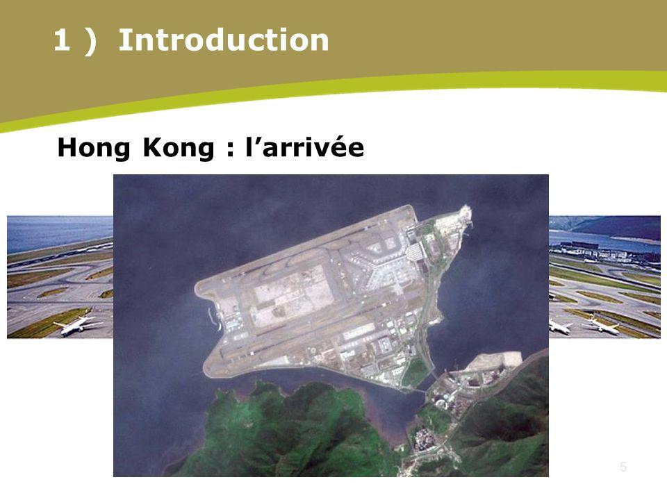 5 Hong Kong : larrivée