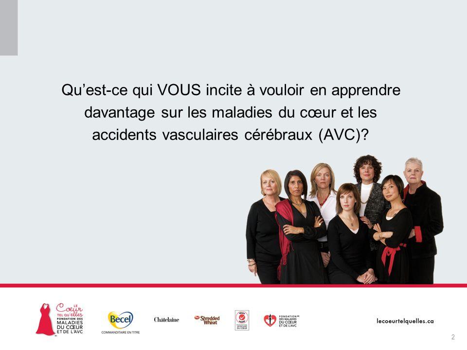 La campagne Le cœur tel quelles MC En quoi consistent les maladies cardiovasculaires et les accidents vasculaires cérébraux.