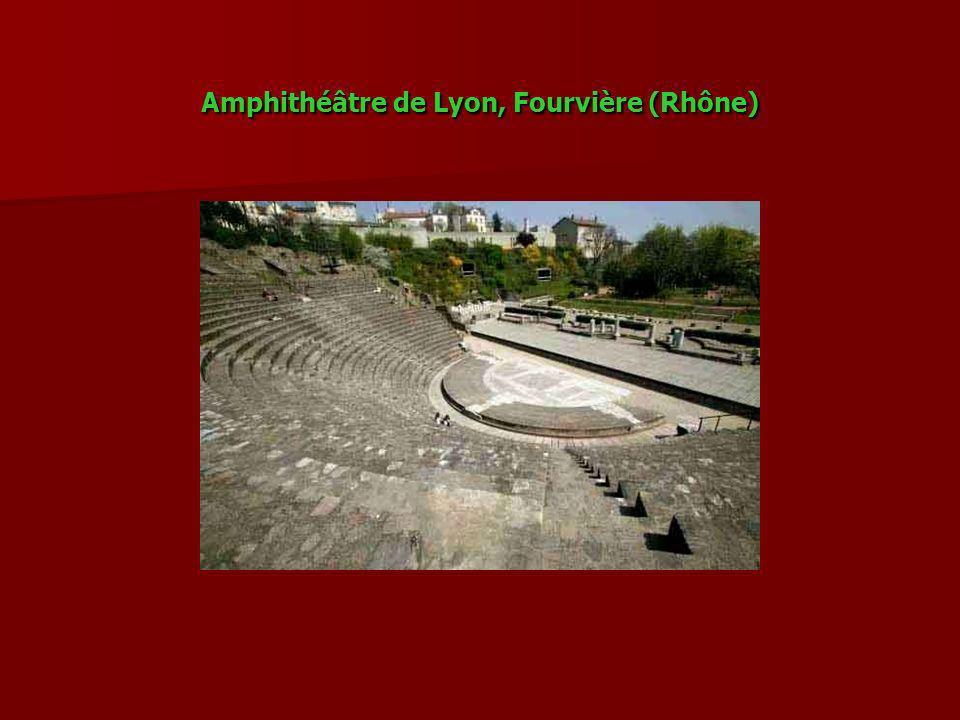 Amphithéâtre de Lyon, Fourvière (Rhône)