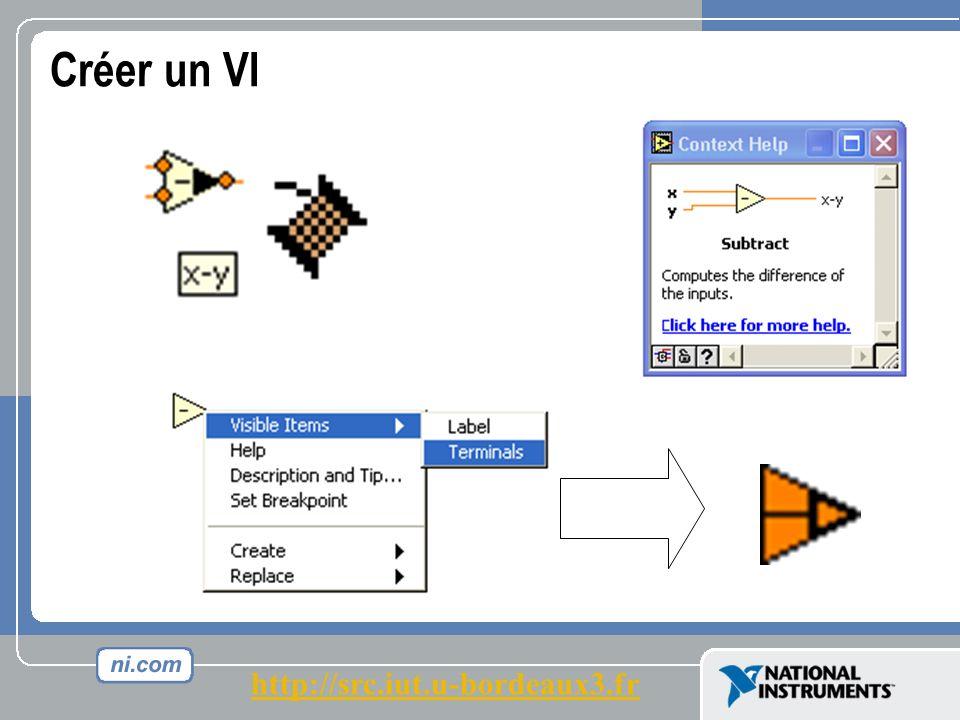 Créer un VI http://src.iut.u-bordeaux3.fr
