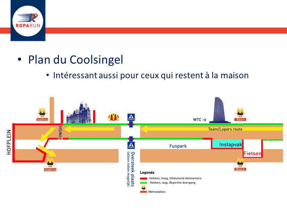 Plan du Coolsingel Intéressant aussi pour ceux qui restent à la maison