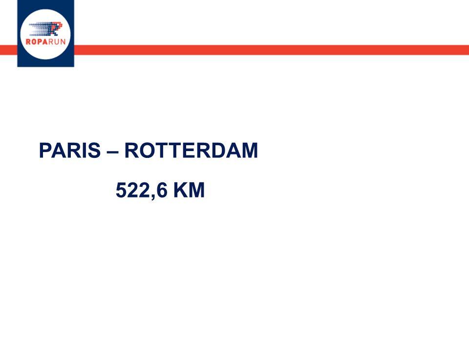 PARIS – ROTTERDAM 522,6 KM