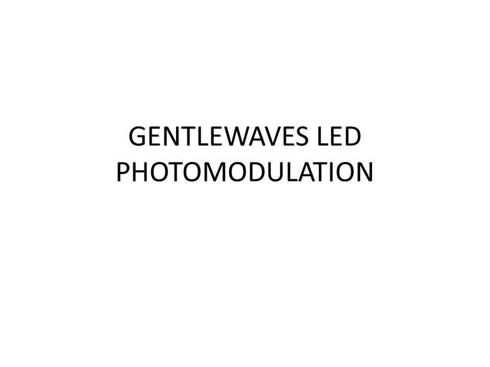 GENTLEWAVES LED PHOTOMODULATION