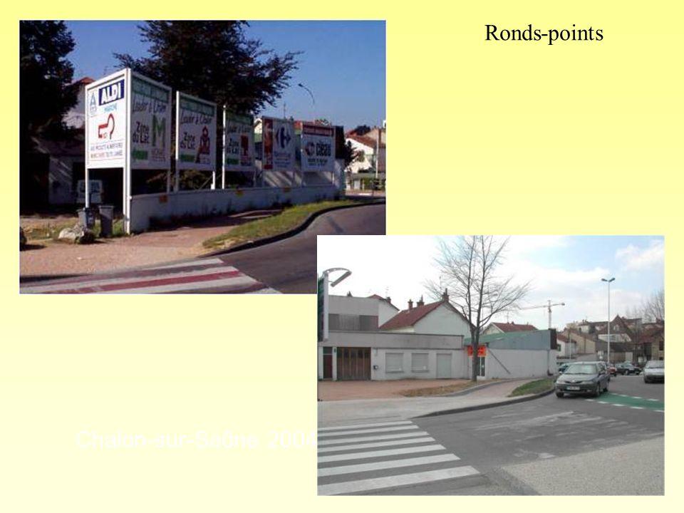 Chalon-sur-Saône 2004 photo 1 « après » Ronds-points
