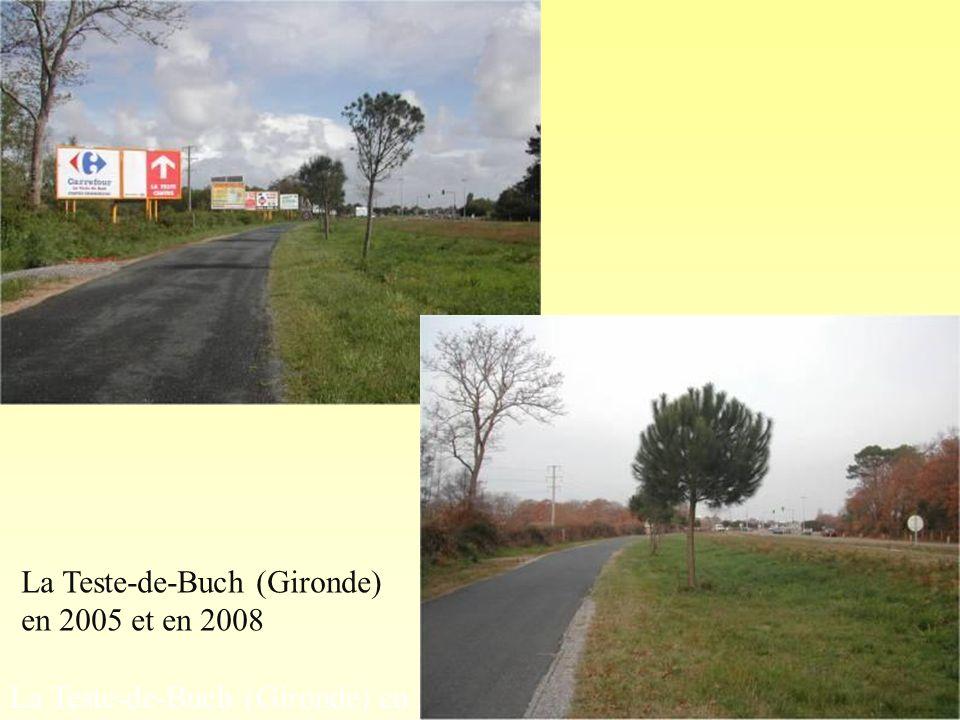 La Teste-de-Buch (Gironde) en 2003. Photo 1 « avant » La Teste-de-Buch (Gironde) en 2005 et en 2008