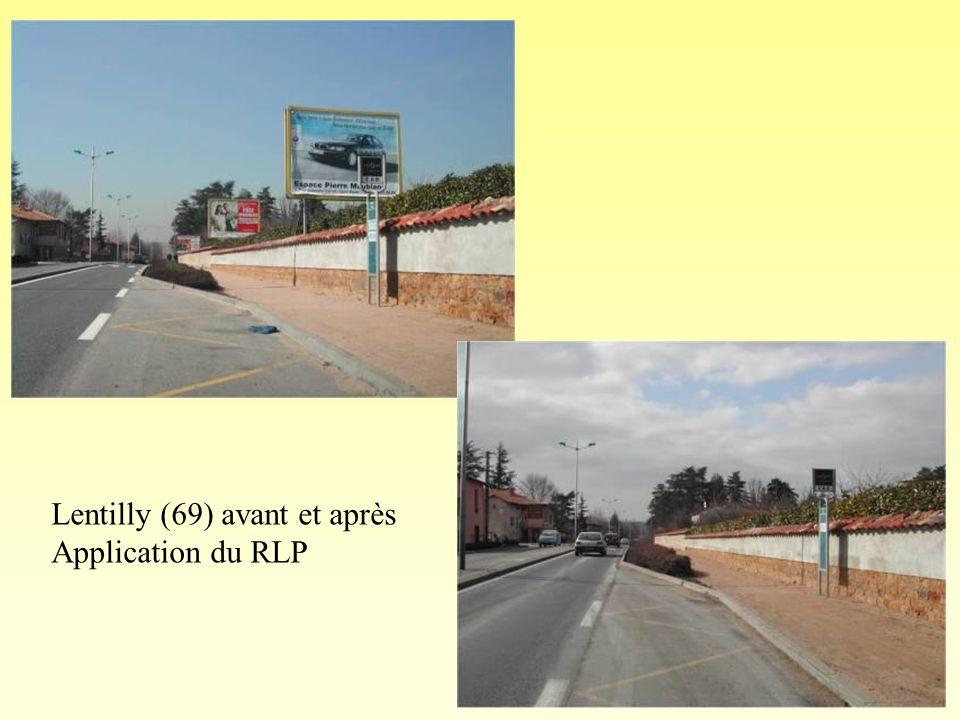 Lentilly (Rhône) photo 2 avant application du règlement Lentilly (69) : interdiction des portatifs
