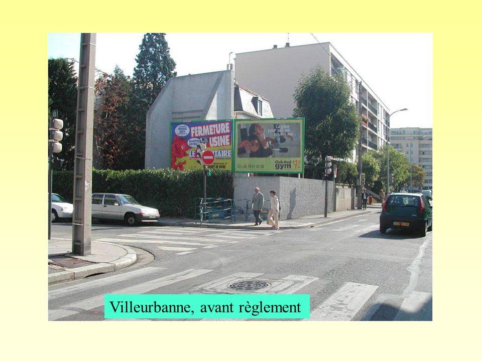 Villeurbanne, avant règlement