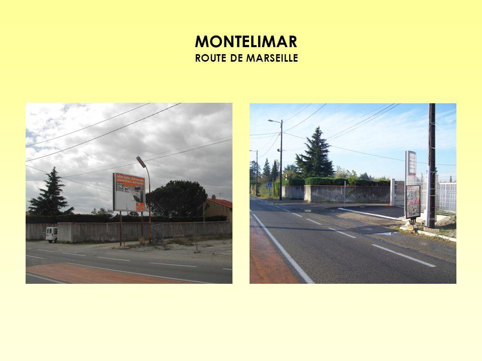 MONTELIMAR ROUTE DE MARSEILLE