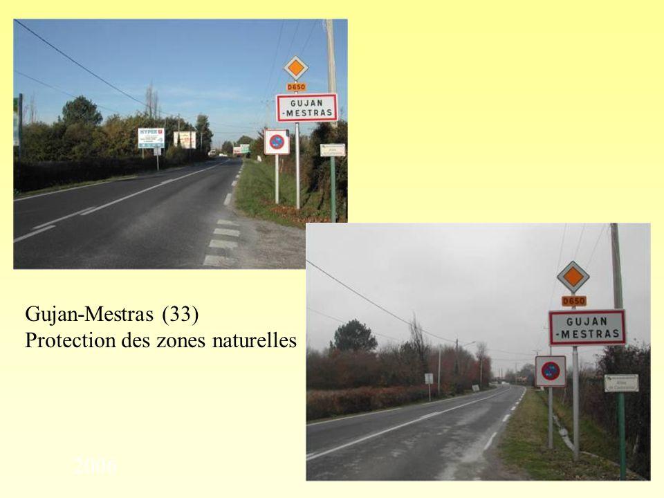 Espace minimum entre deux dispositifs (ici, 70 mètres) Chalon-sur-Saône