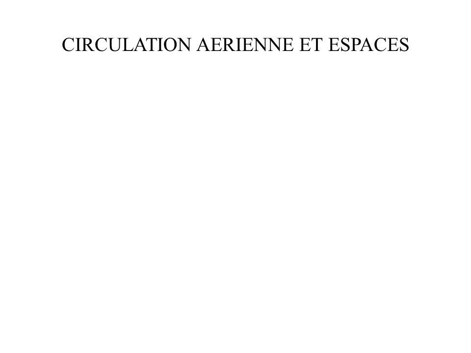 CIRCULATION AERIENNE ET ESPACES
