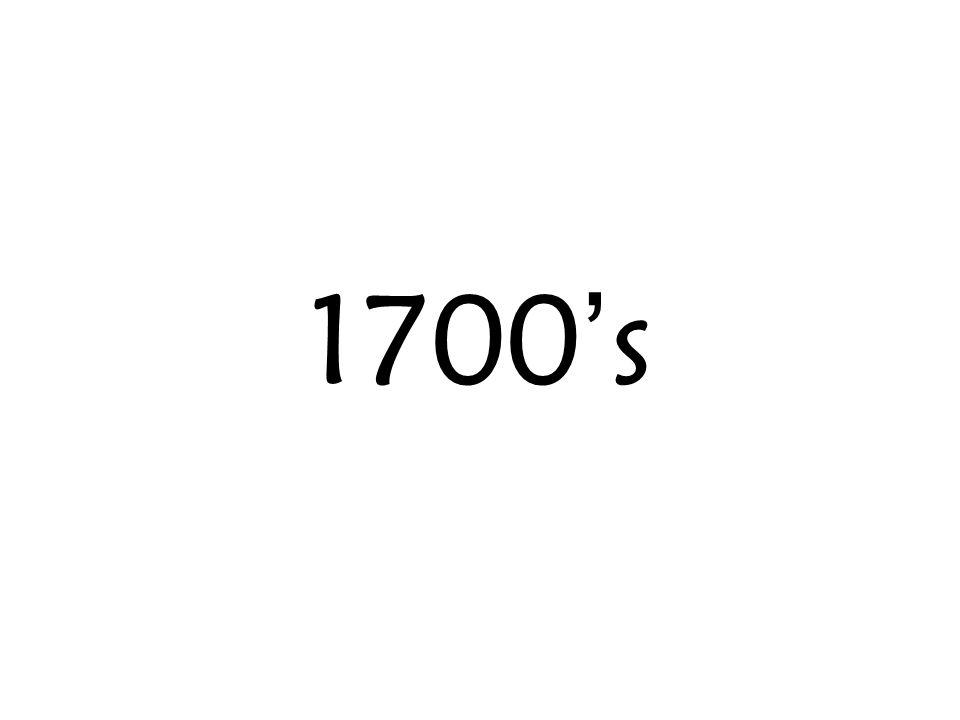 1700s