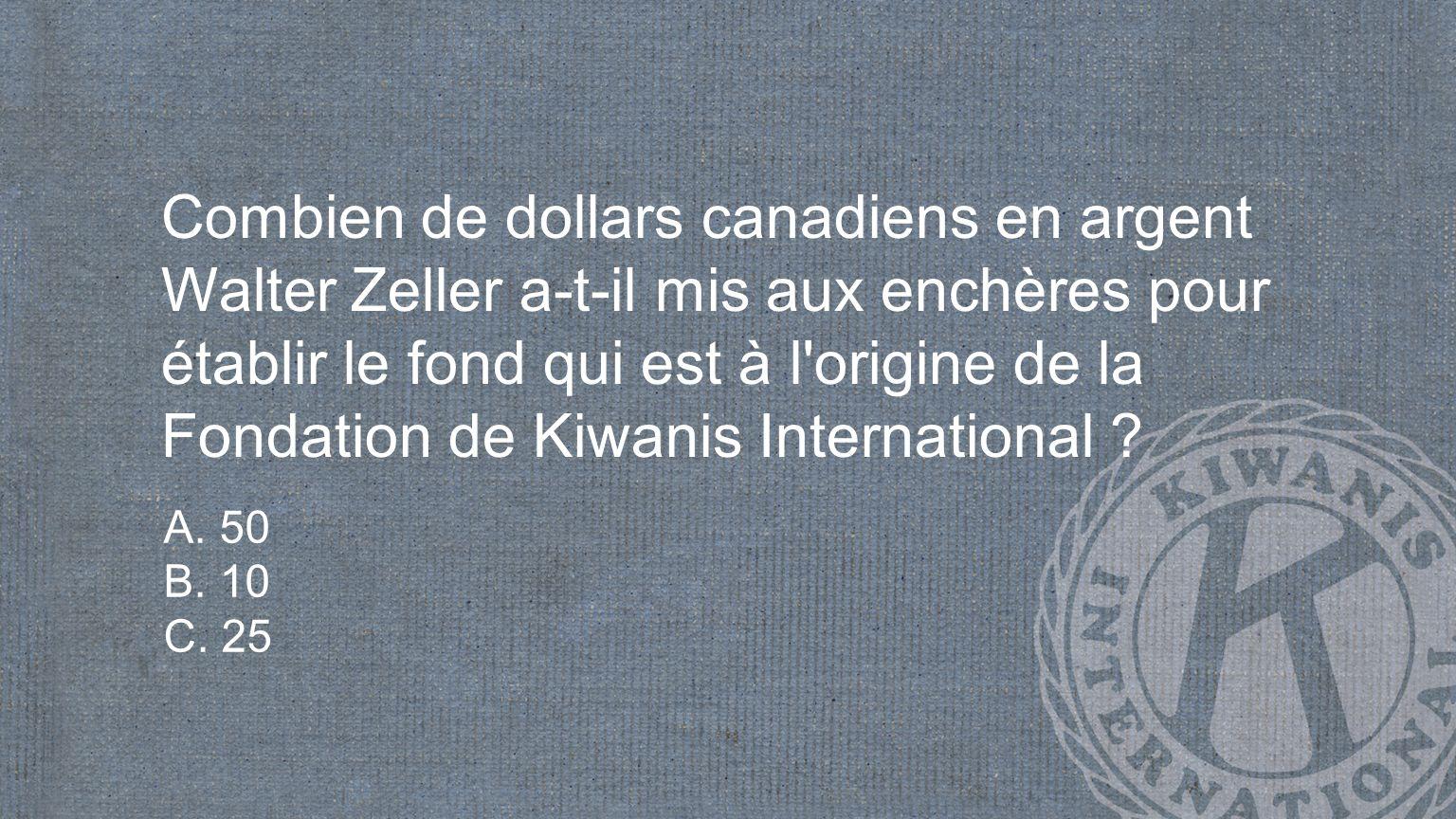 Quel montant Kiwanis s est-il engagé à collecter pour éliminer le tétanos maternel et néonatal .