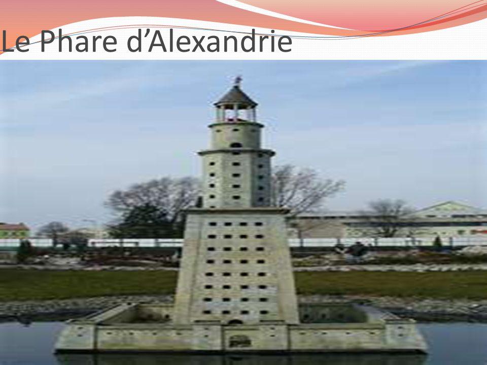 Le Phare dAlexandrie
