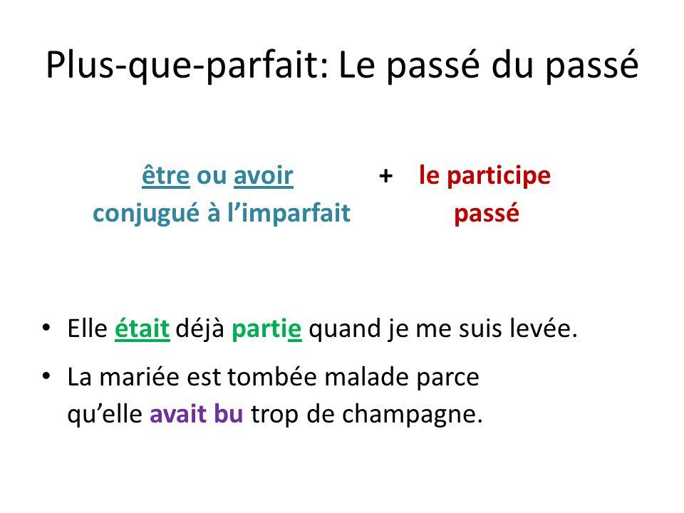 Plus-que-parfait: Choisissez lauxiliaire avoir ou être et écrivez la forme qui convient pour faire un verbe au plus-que-parfait.