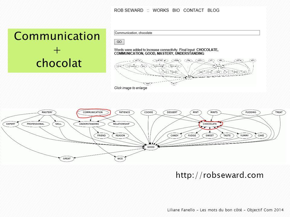 http://robseward.com Liliane Fanello - Les mots du bon côté - Objectif Com 2014