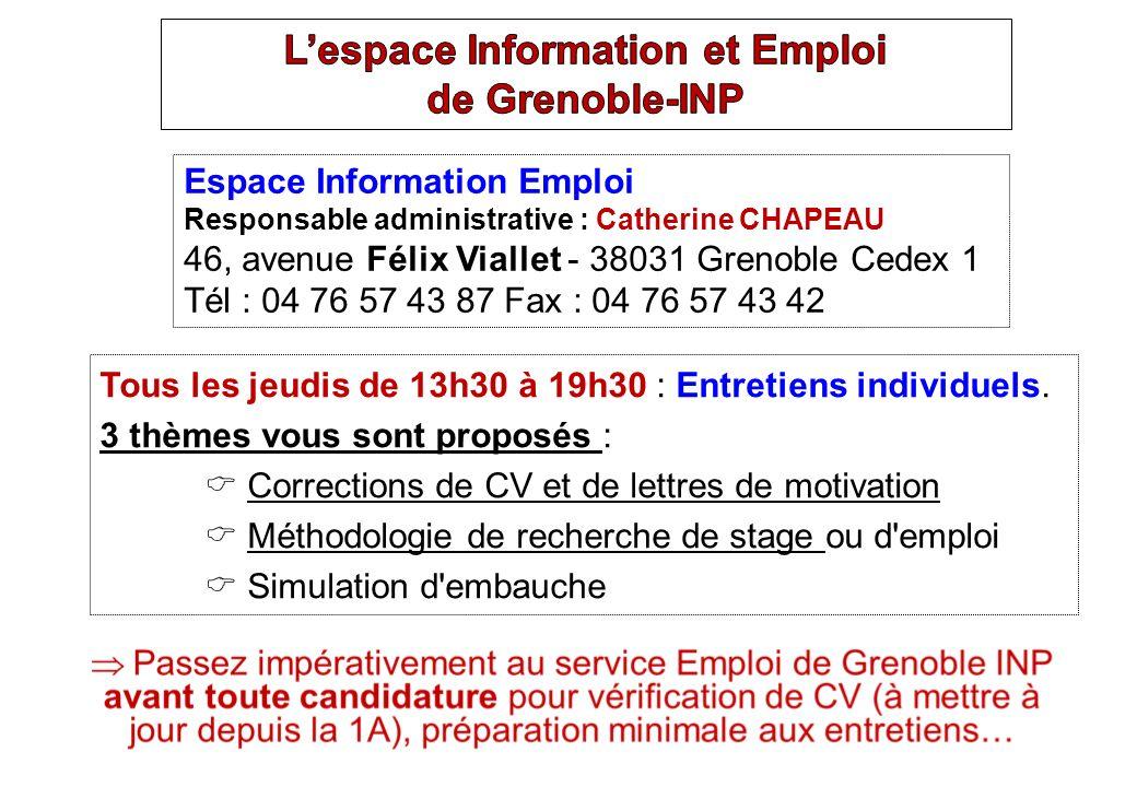 Critères de validité Le sujet doit être de niveau 2 nde année ingénieur / Master 1 Stage dapprentissage du métier de lingénieur Le stage peut être effectué en France comme à létranger.