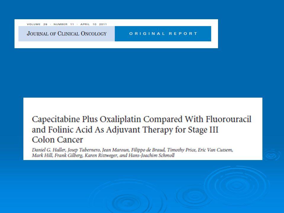 Cancer colique adjuvant : létude AVANT Analyse de sous groupes 3451 pts entre dec.