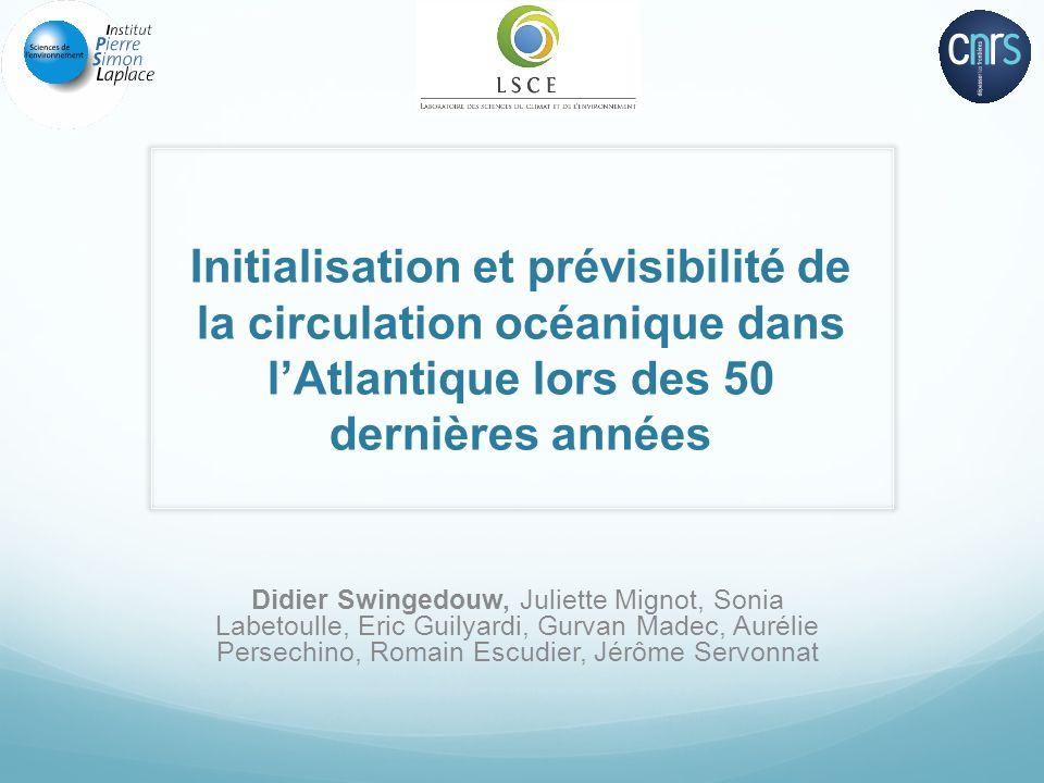 Variabilité décennale en Atlantique Nord ? Chylek et al. 2011