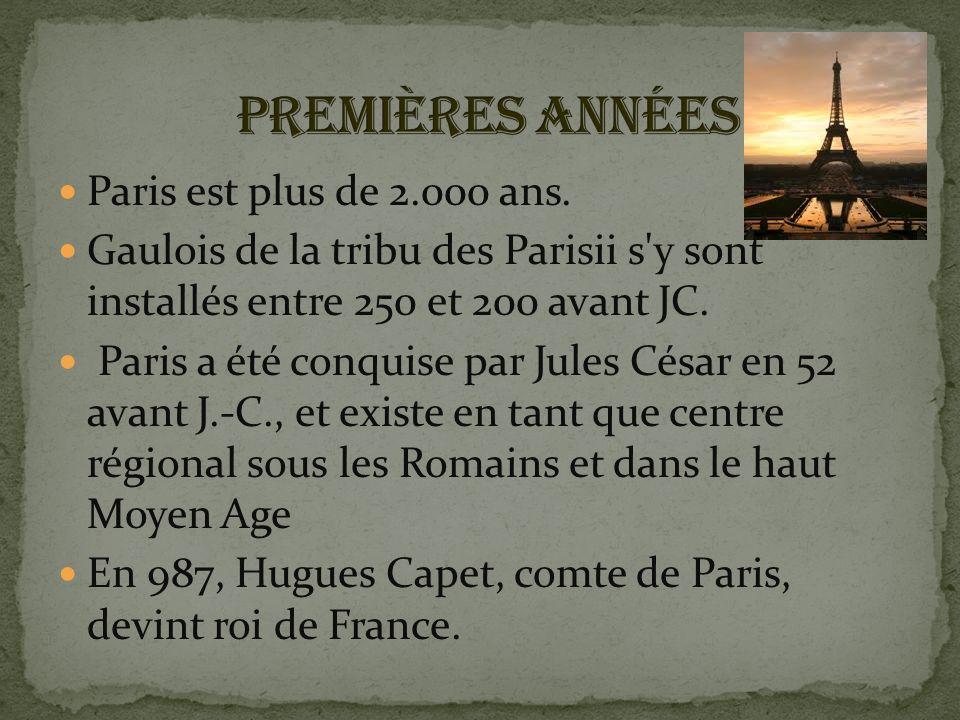 Paris est plus de 2.000 ans.