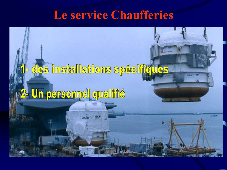 Le service Chaufferies