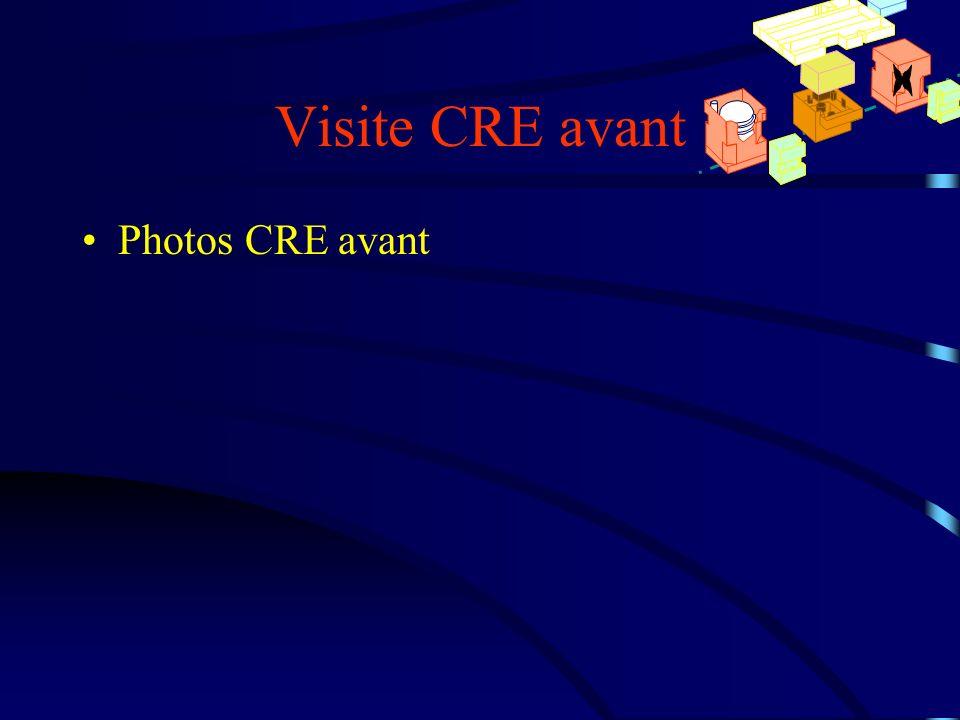 Visite CRE avant Photos CRE avant