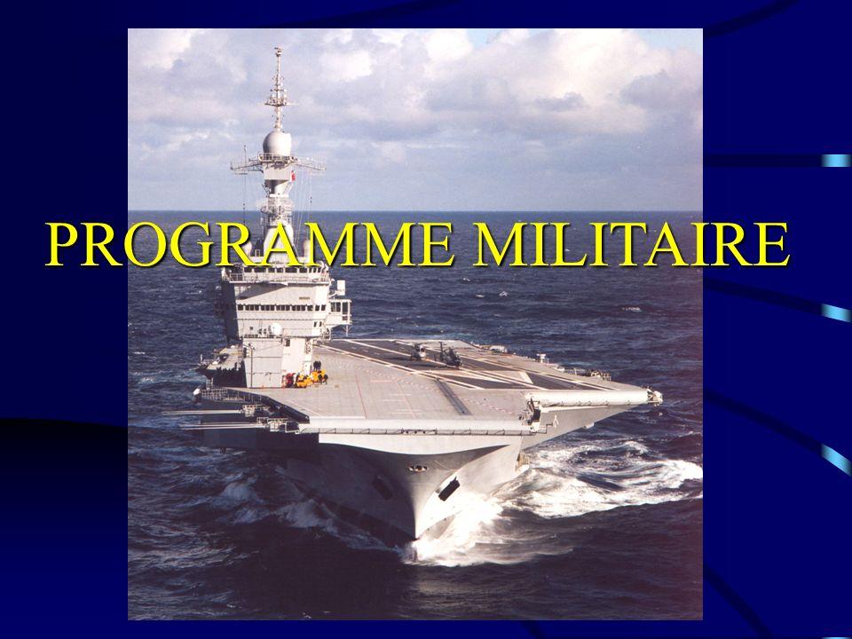 Programme militaire PROGRAMME MILITAIRE