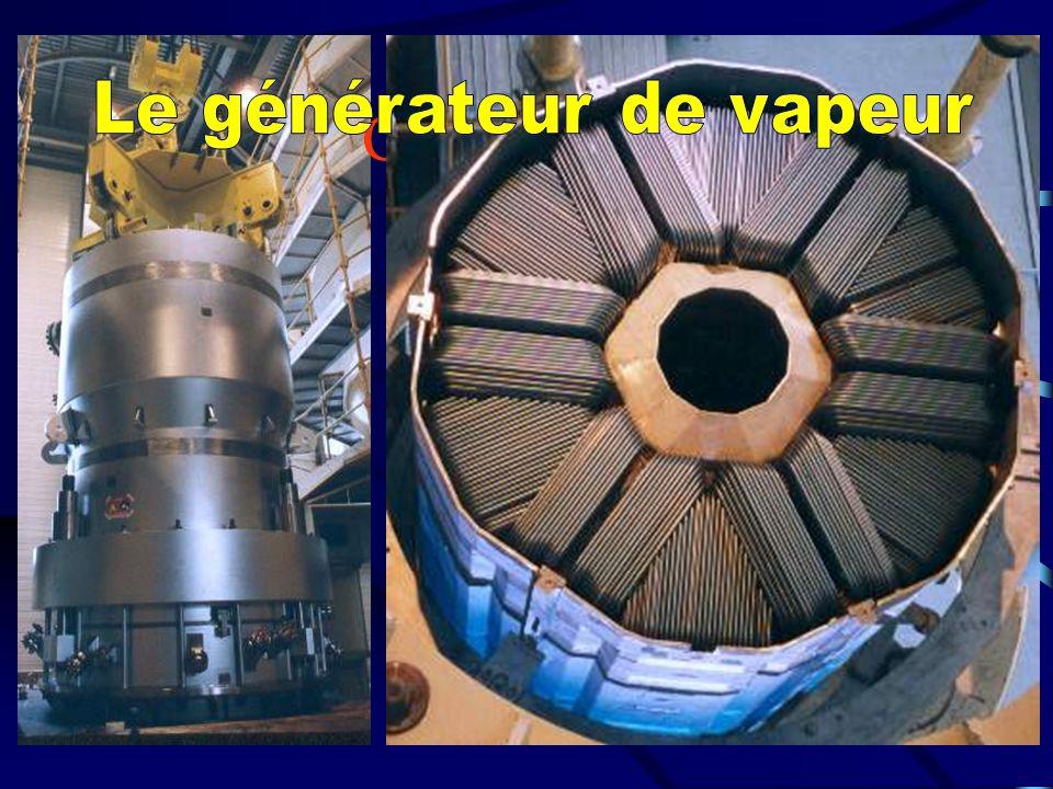 L appareil propulsif CATAPULTE TURBINE HP TURBINE BP REDUCTEUR CONDENSEUR TURBO ALTERNATEUR CIRCUIT SECONDAIRE DE VAPEUR CIRCUIT D EAU ENCEINTES DE CONFINEMENT BOUILLEURS REACTEUR DEGAZEUR
