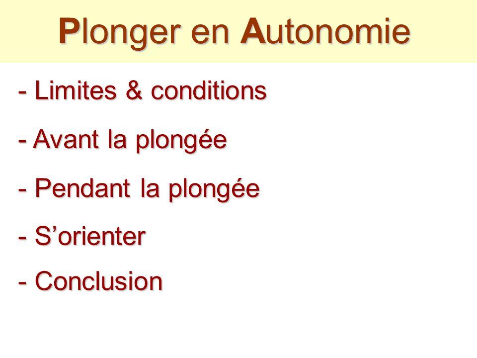 Plonger en A AA Autonomie Espace lointain Le F FF Froid Le M MM Milieu et ces surprises
