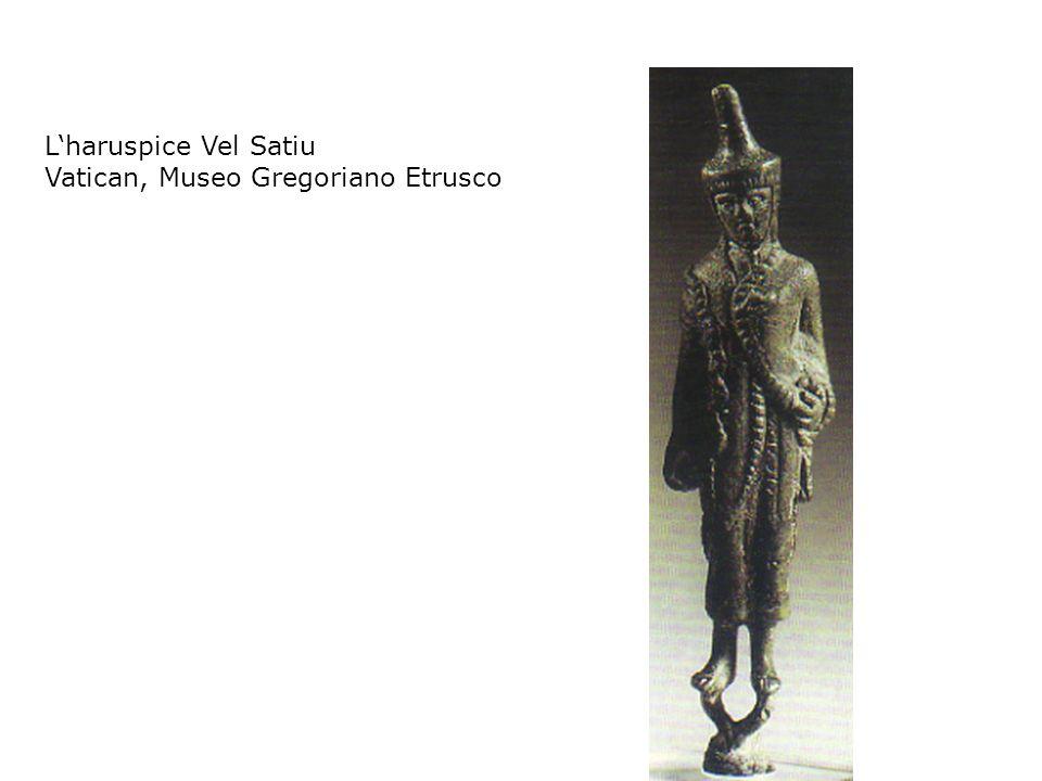 Lharuspice Vel Satiu Vatican, Museo Gregoriano Etrusco