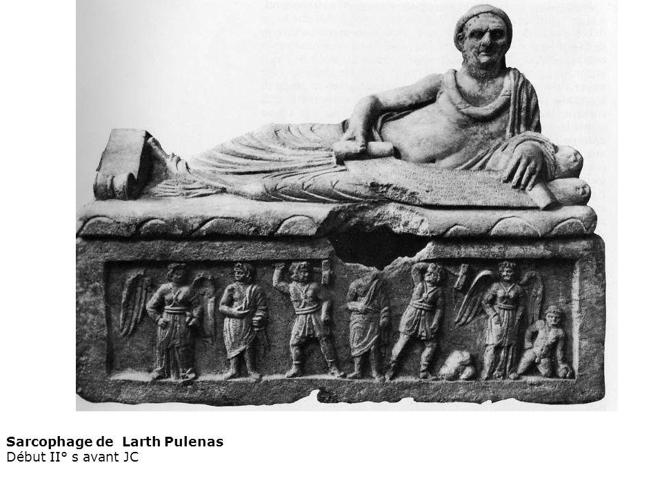 Sarcophage de Larth Pulenas Début II° s avant JC
