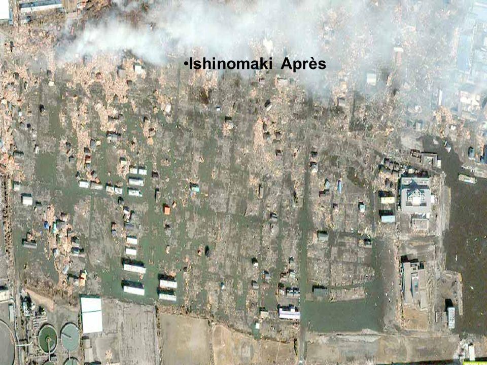 Aujourdhui, on découvre des images inédites prises par satellite qui permettent de comparer les images avant et après le tsunami ! Source: ABC News &