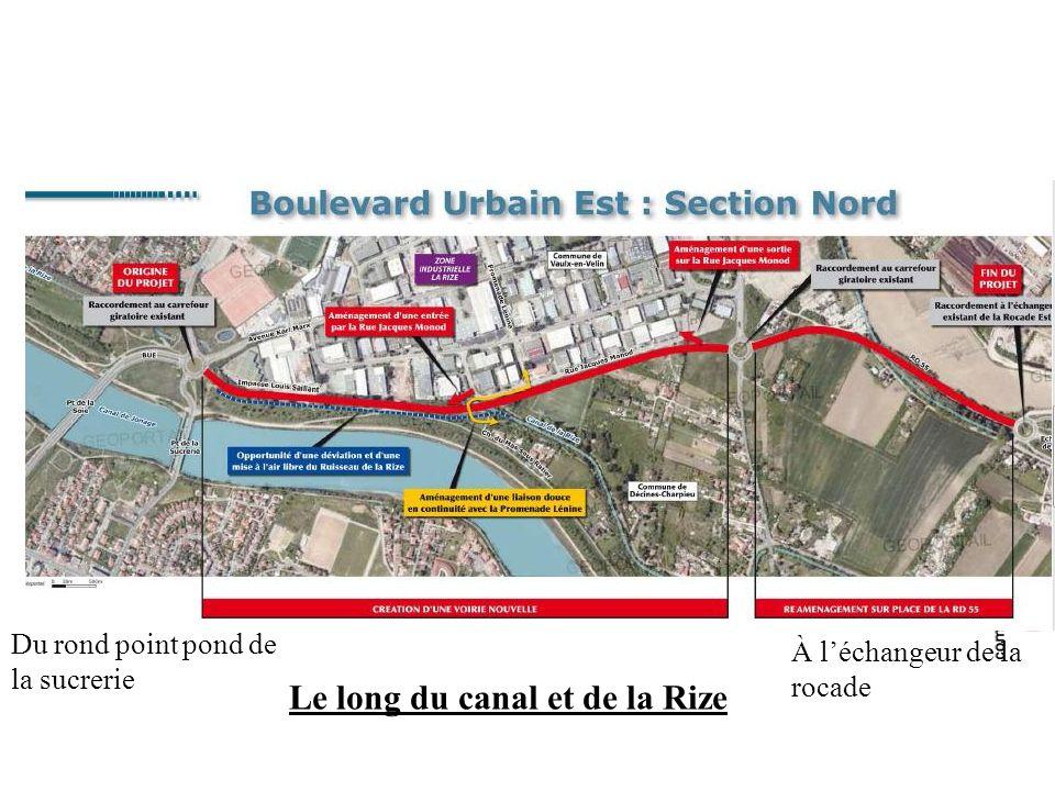 Planning actuel pour le tronçon vaulx Sud - Enquête publique : 13 septembre - 15 octobre 2010 - Démarrage des travaux: Mi 2011 - Mise en service : 2013