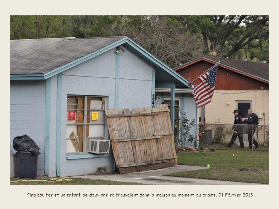 Les recherches ont duré deux jours devant la maison.– 01 Février 2013