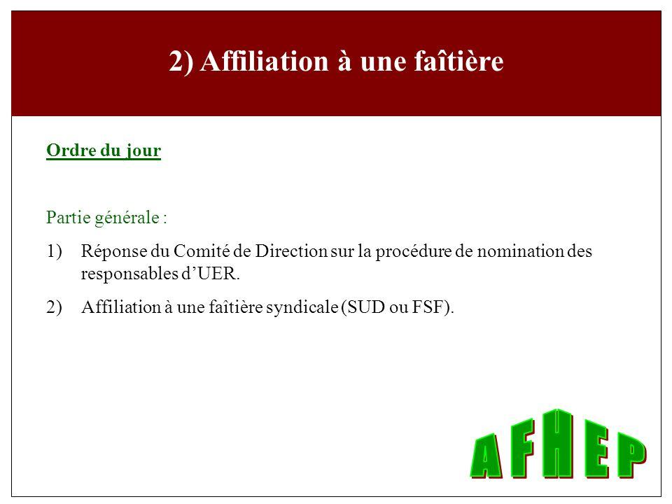 Partie statutaire Partie statutaire : 7 ) Approbation des comptes 2005 et nomination des vérificateurs pour 2006.