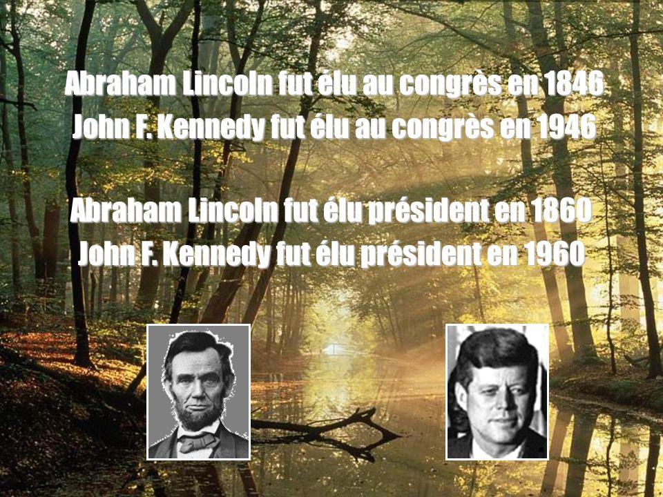 Abraham Lincoln fut élu au congrès en 1846 John F.