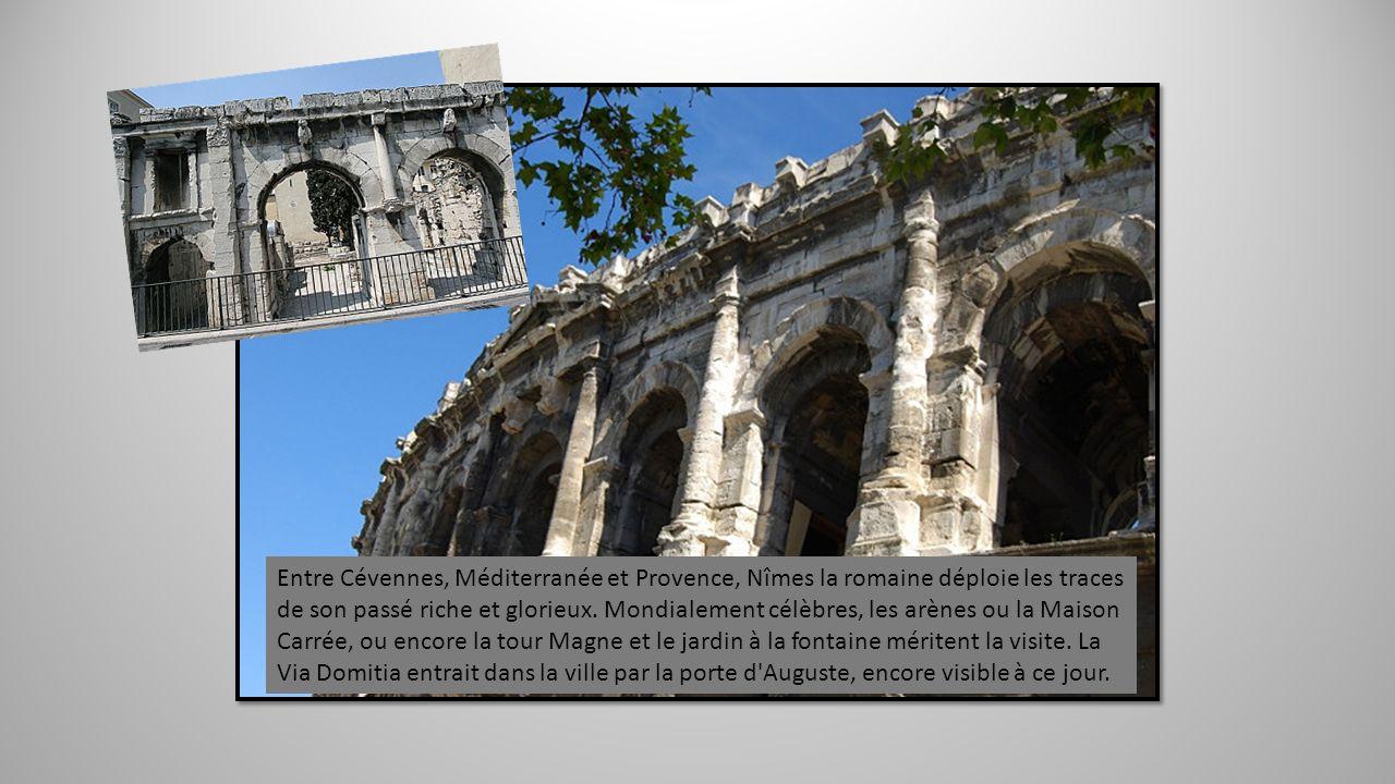 Une fois le Rhône franchi, probablement par bac, la Voie Domitienne continuait sa route dans le Gard. Ville d'Art et d'Histoire, Beaucaire charme les